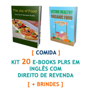 kit 20 ebooks comida