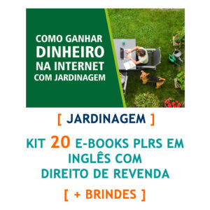kit 25 e-books jardinagem