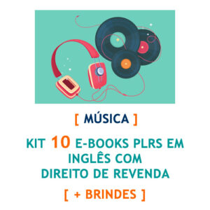 kit 10 e-books música