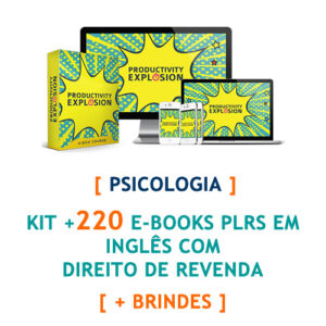 kit mais 220 ebooks psicologia