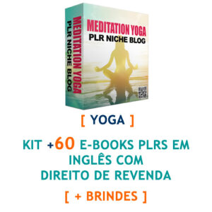 kit mais de 60 ebooks yoga